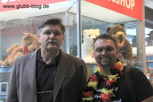 Hans Meyer auf dem Weg nach Wien zur EM2008 trifft den Glubb-Blog
