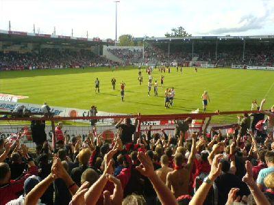 Cottbus - Nürnberger Club 1:1 in 2007