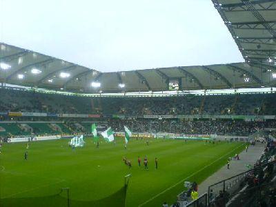 Volkswagen-Arena Wolfsburg gegen Nürnberg 3:1 in 2007