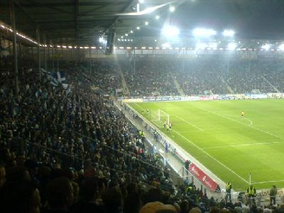 Groundhopping Stadion Magdeburg gegen Emden 2008
